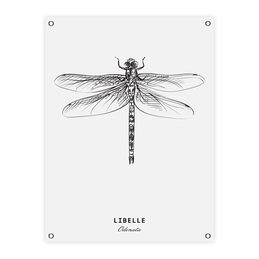 3cd938e629d Tuinposter libelle - 60 x 80 cm - De Leukste Woondecoratie
